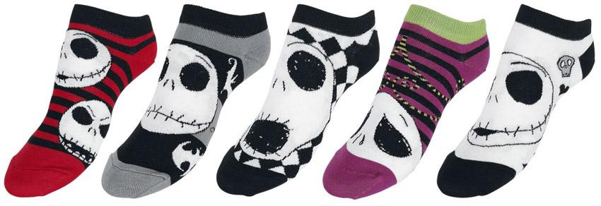 Les chaussettes Jack en couleurs