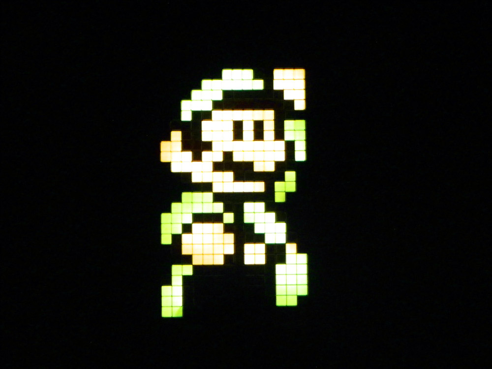 Pixel Pals Luigi