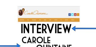Interview de Carole Quintaine
