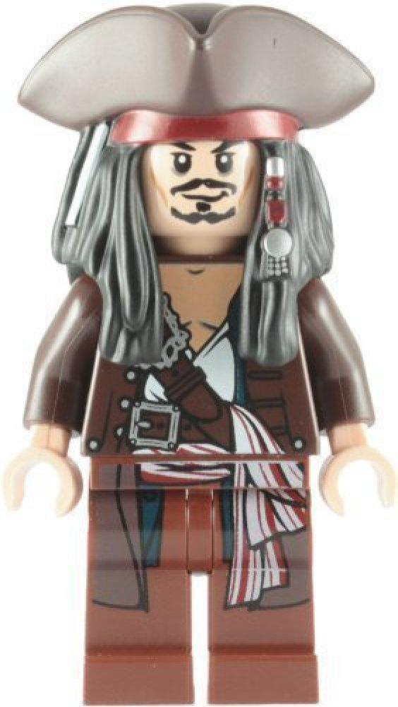 Capitaine Jack Sparrow Avec Tricorne en Lego