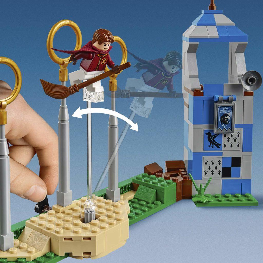 Match de Quidditch 75956 en Lego