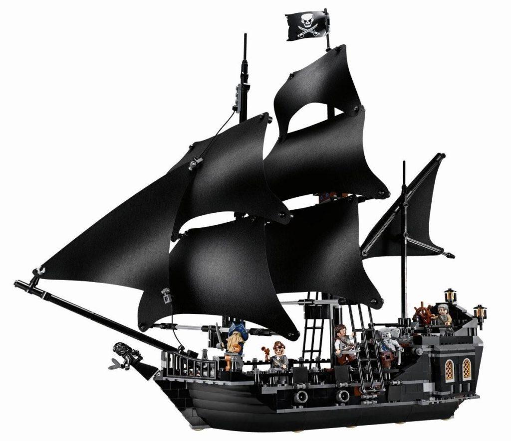 Black Pearl de Pirates des Caraïbes 4184 en Lego