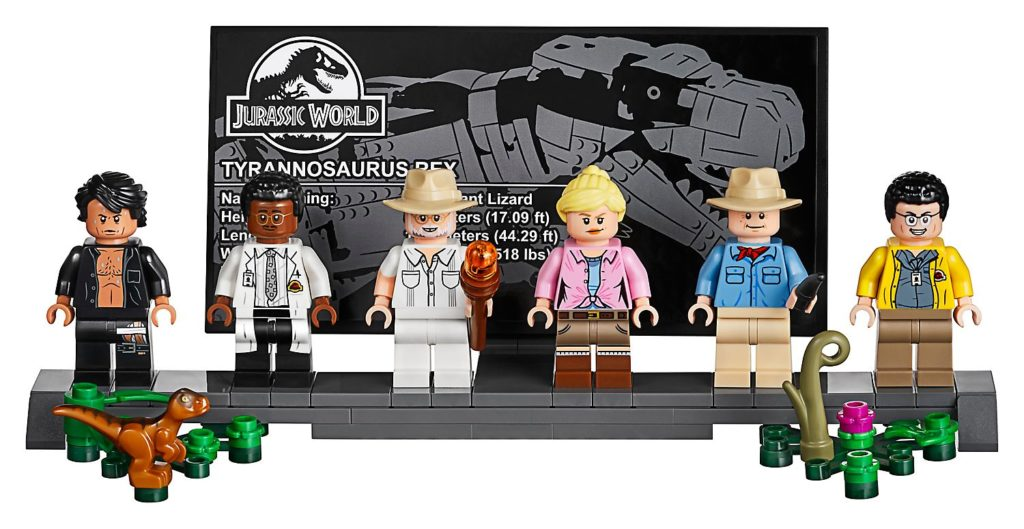 Jurassic Park : le carnage du T. rex en Lego 75936